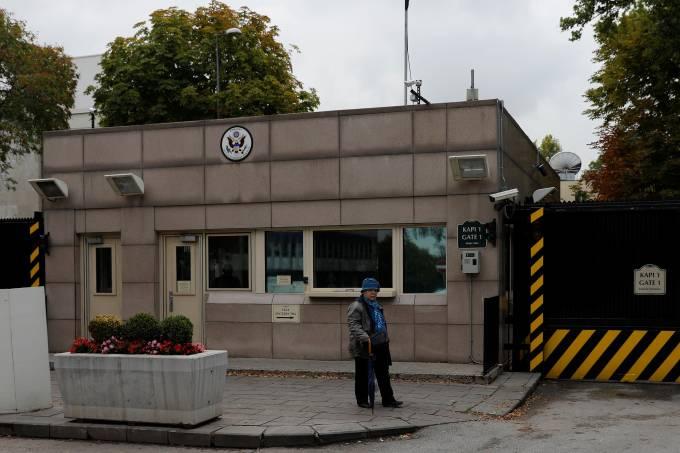 Embaixada norte-americana em Ancara, na Turquia