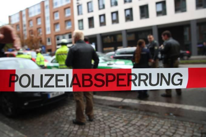 Ataque com faca em Munique na Alemanha