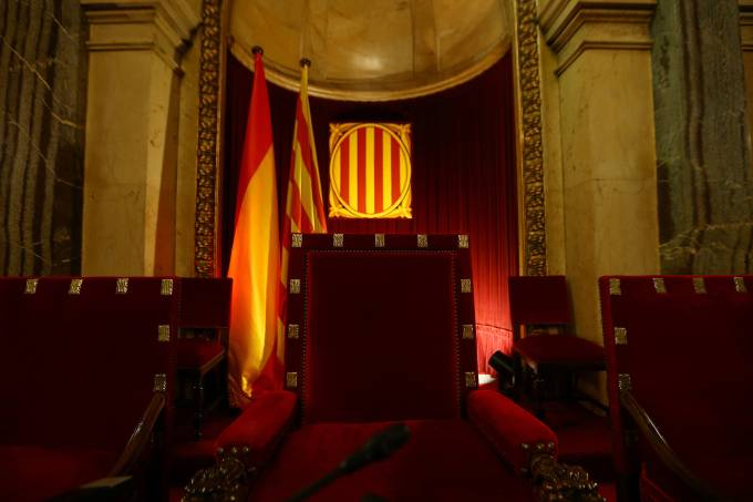Parlamento Catalão em Barcelona