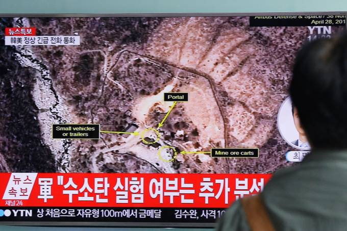 Testes nucleares na Coreia do Norte