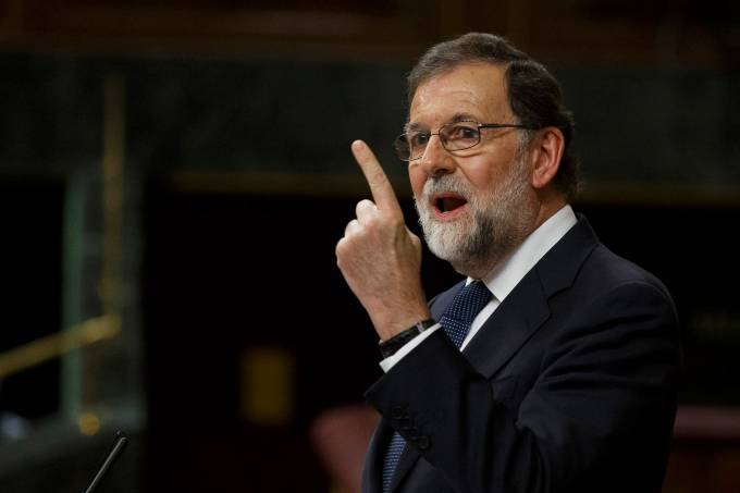 Independência – Catalunha – Espanha – Primeiro Ministro Espanhol Mariano Rajoy