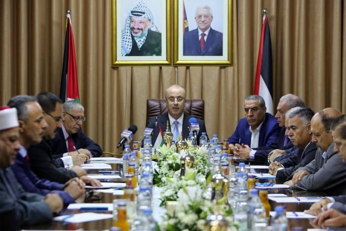 Primeiro-ministro palestino, Rami al-Hamdallah
