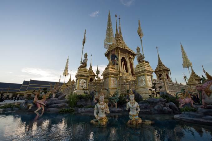 Funeral do rei Adulyadej na Tailândia