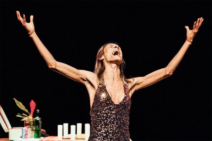 Livre expressão – Renata Carvalho, na peça em que vive Jesus: censurada por lei que visa a coibir a intolerância religiosa