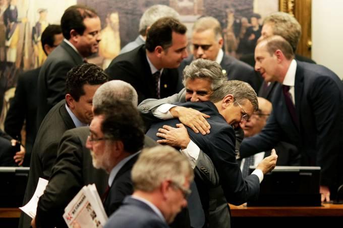Deputados Beto Mansur e Darcisio Perondi