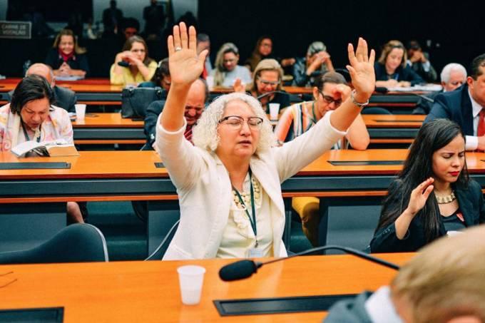 Psicóloga Rozângela Justino na Câmara dos Deputados, em Brasília