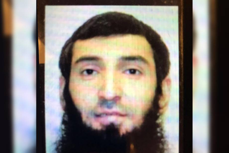 Sayfullo Habibullaevic Saipov, 29, suspeito do ataque terrorista em Nova York,