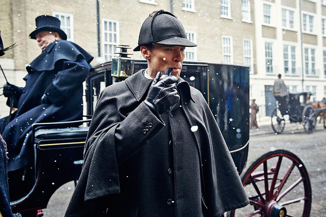 Picture Shows: Sherlock Holmes (BENEDICT CUMBERBATCH) Credito: Divulgação