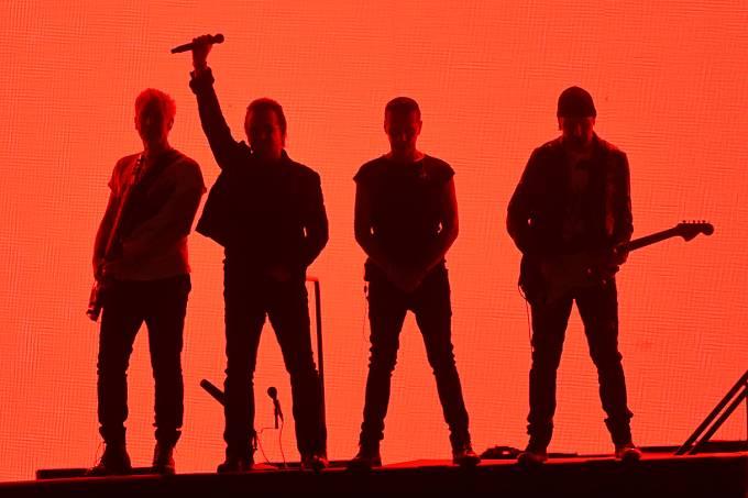Show da banda irlandesa U2