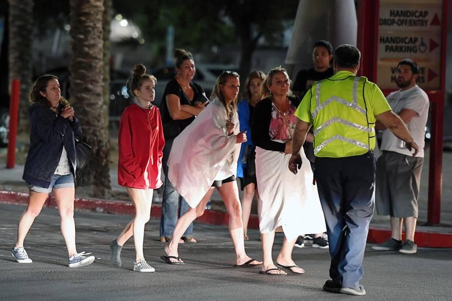 Um ataque durante um show ao ar livre em Las Vegas, nos Estados Unidos, deixou 58 mortos e 515 feridos -02/10/2017