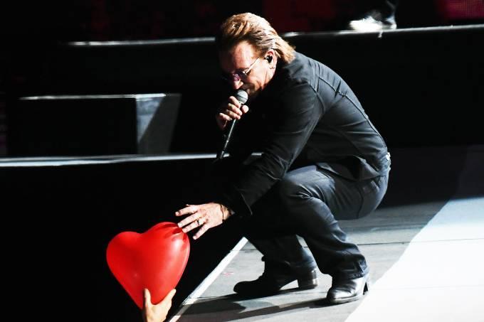 U2 faz show em São Paulo da turnê 'The Joshua Tree' – 19/10/2017