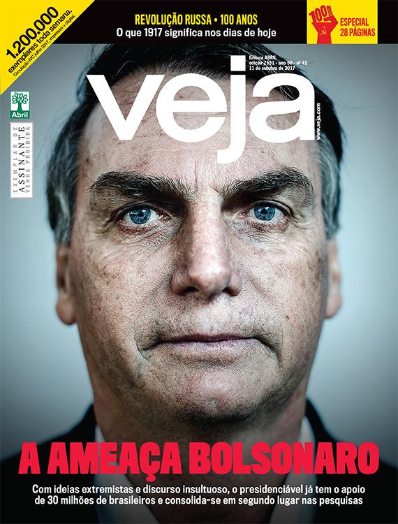 Menstruación Impresión Contestar el teléfono  A ameaça Bolsonaro | VEJA