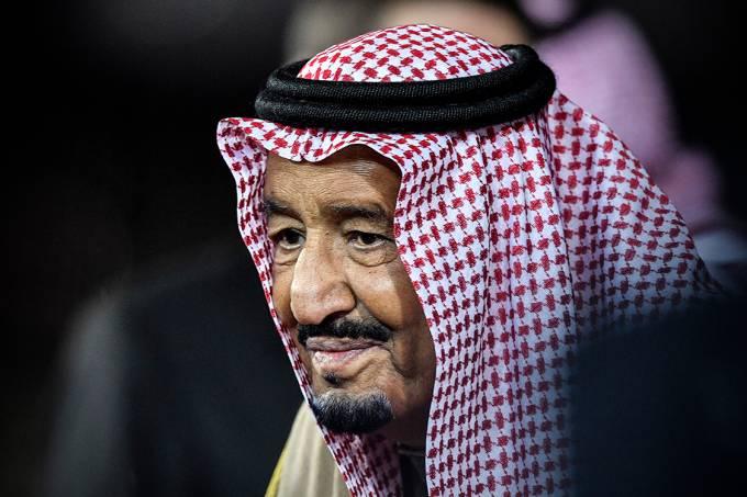 Rei Salman bin Abdul Aziz, da Arábia Saudita