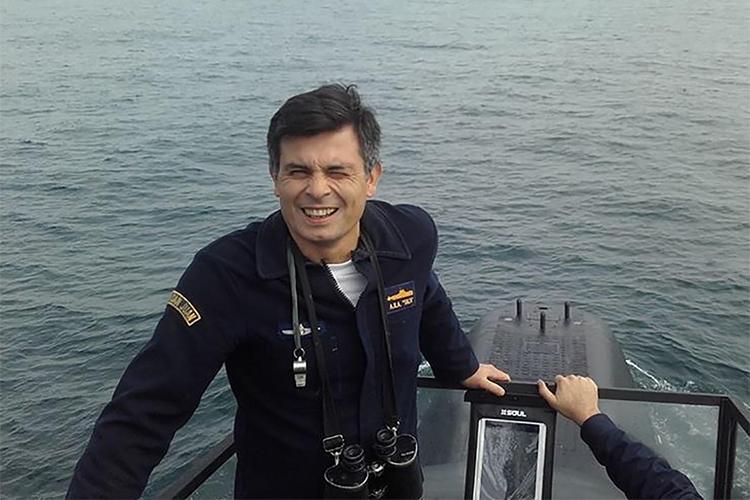 O suboficial Cayetano Hipólito Vargas, de 45 anos, é casado e tem dois filhos. Vive em Mar del Plata há anos