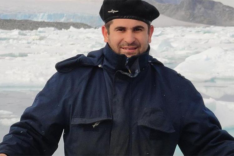 Primeiro suboficial, Hernán Ramón Rodríguez trabalha há nove anos no submarino San Juan. É casado e natural de General Alvear, em Mendoza