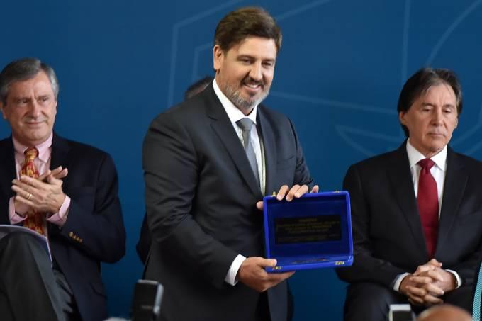 Cerimônia de posse de Fernando Segóvia