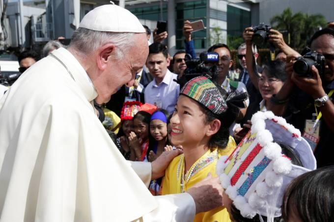 Papa Francisco em Mianmar