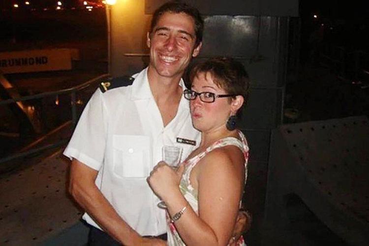Adrián Zunda Meoqui queria ser marinheiro desde criança. Aos 32 anos é tenente de fragata do San Juan