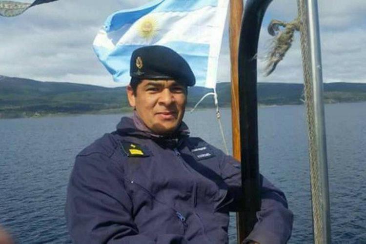 """O primeiro suboficial Víctor Hugo Coronelé o enfermeiro do ARA San Juan. """"Meu pai, irmãos, sobrinhos, esposa, filhos e amigos estão esperando por ele"""", afirmou seu irmão, Marcelo Coronel"""