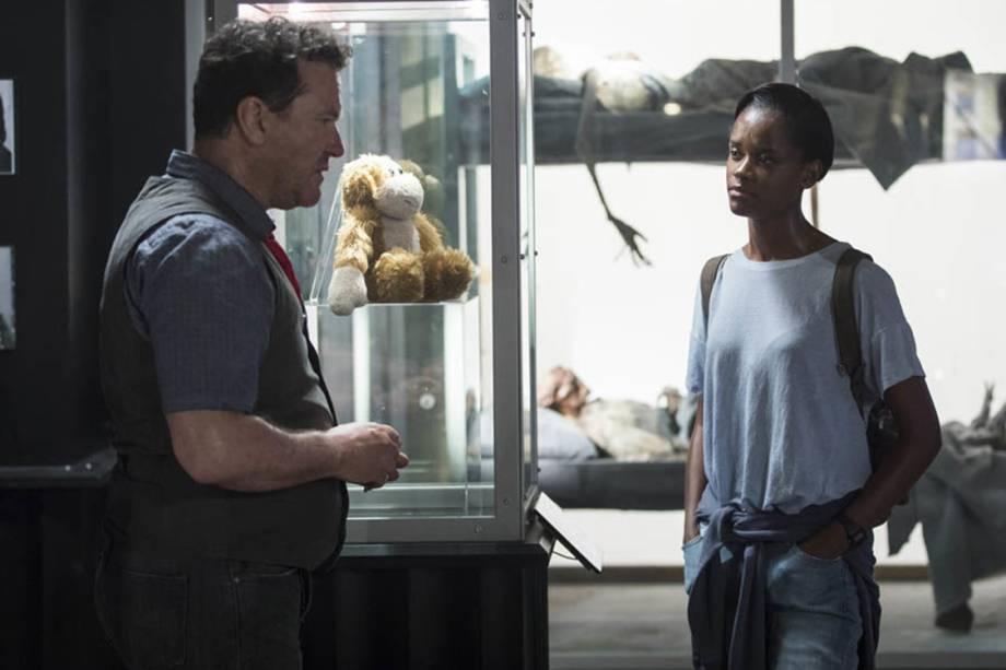 Cena do episódio 'Black Museum', da série 'Black Mirror'