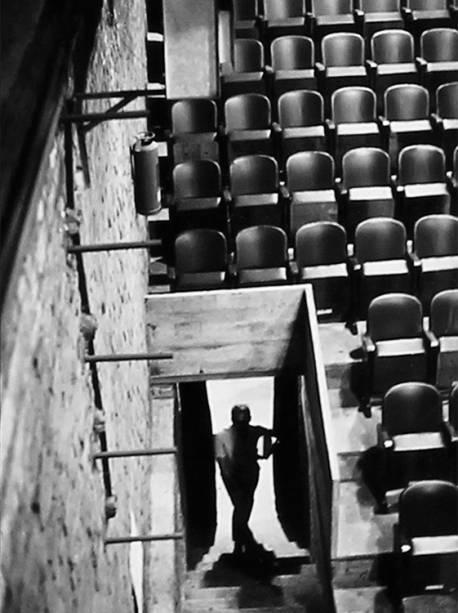 Escada de acesso lateral(1968)