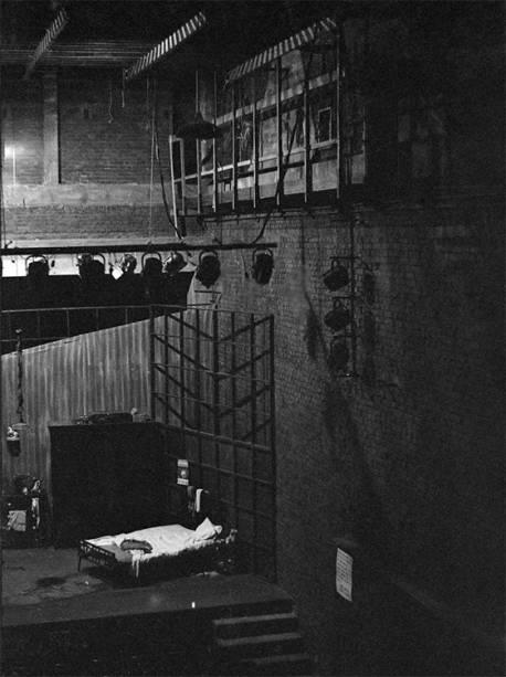 Vista desde a cabine técnica para o palco giratório (1968)