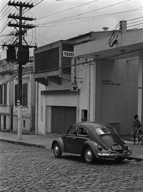 Fachada vista da rua(1968)