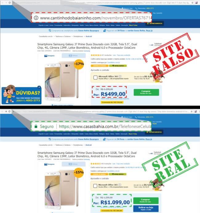 Reclame Aqui alerta sites falsos que aplicam golpes em consumidores pela Black Friday