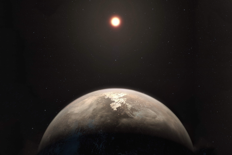Resultado de imagem para Possível exoplaneta potencialmente habitável é descoberto 'próximo' à Terra