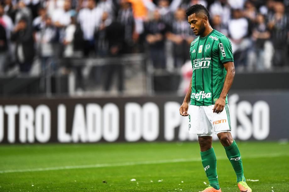 Jogo entre Corinthians e Palmeiras realizado no Arena Corinthians, Zona Leste de São Paulo. O Derby é válido pela 32ª rodada do Brasileirão 2017 - 05/10/2017