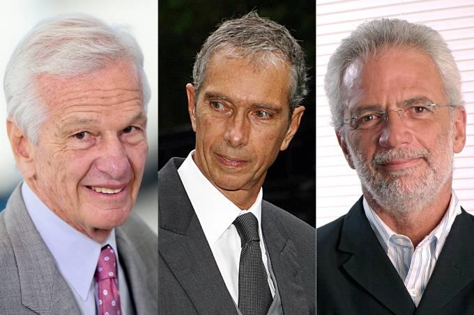 Jorge Paulo Lemann, Beto Sicupira e Marcel Telles