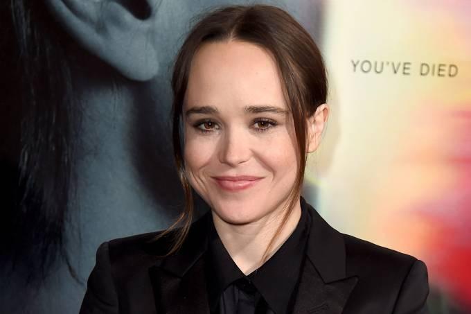 A atriz Ellen Page