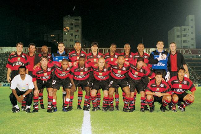 Flamengo campeão da Mercosul de 1999