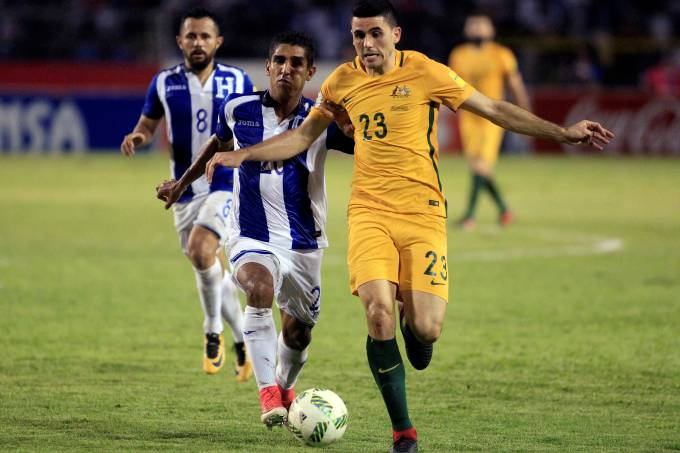 Austrália vs Honduras