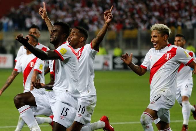 Peru vs Nova Zelândia