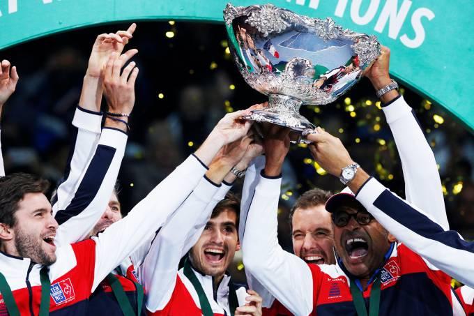 Copa Davis – França x Bélgica