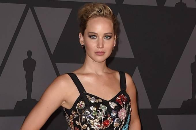 Jennifer Lawrence em novembro de 2017