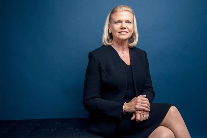 Ginni Rometty, CEO da IBM