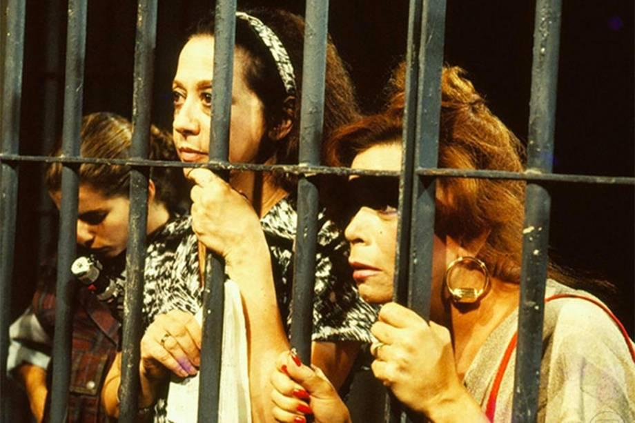 Débora Bloch, Fernanda Montenegro e Consuelo Leandro na novela 'Cambalacho', de<span>Silvio de Abreu</span>