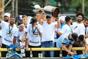 O técnico Renato Gaúcho - Grêmio - 30/11/2017