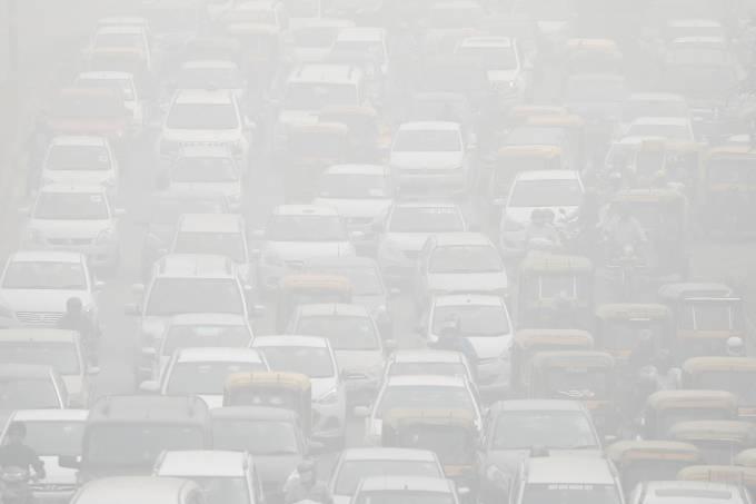 Poluição na Índia