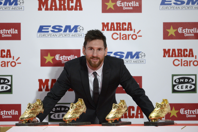 Messi conquista a chuteira de ouro