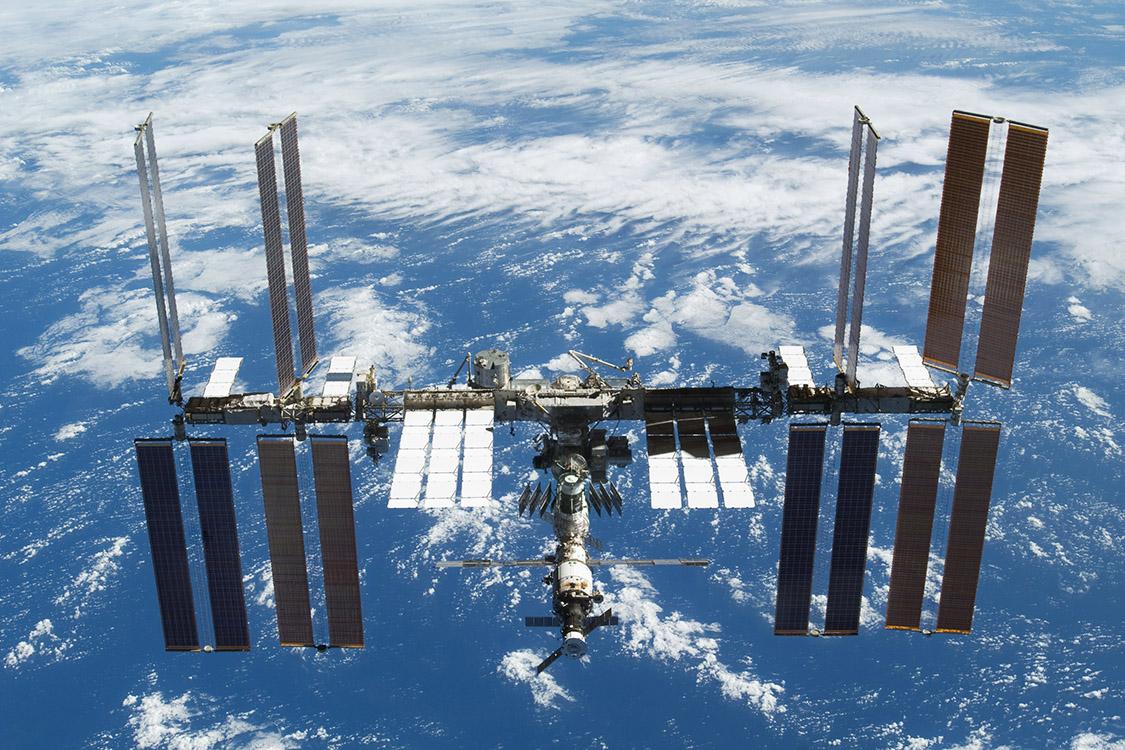 A Estação Espacial Internacional: convívio pacífico de nações.