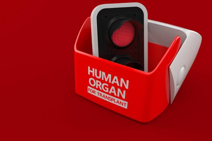 Transplante de órgão proibido