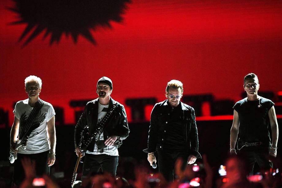 6. A banda irlandesa U2 -<span>US$ 118 milhões</span>