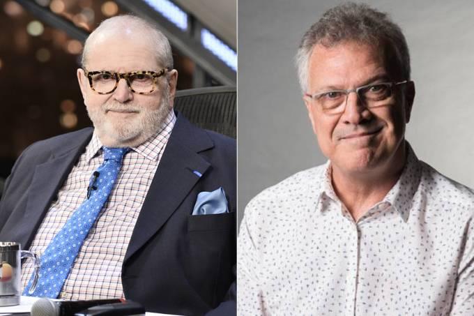 Jô Soares e Pedro Bial