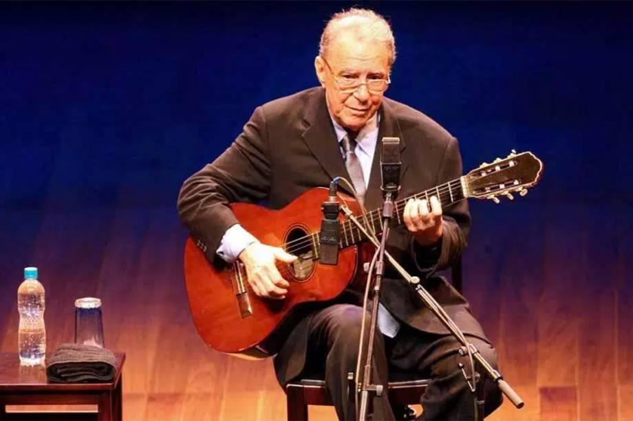 João Gilberto se apresenta em São Paulo, 2008