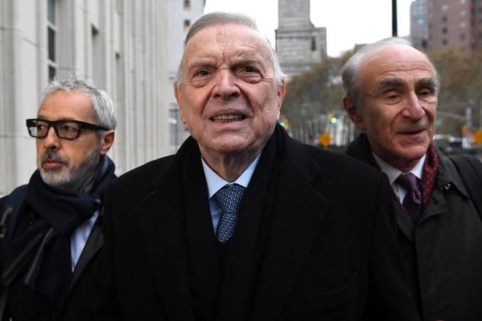 O ex-presidente da CBF José Maria Marin