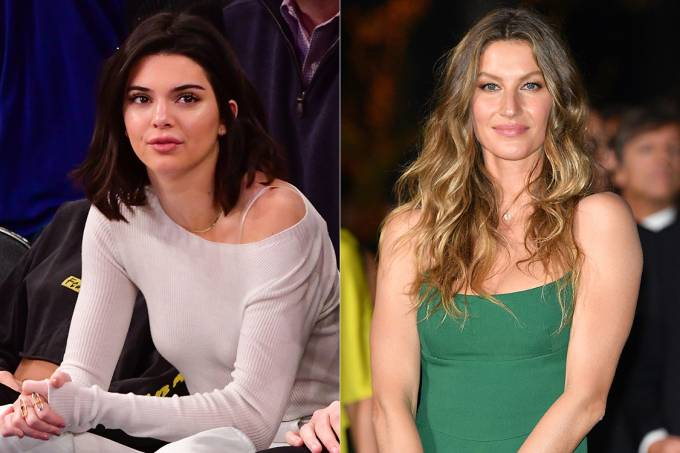 Kendall Jenner desbanca Gisele Bündchen na lista de modelos mais bem pagas