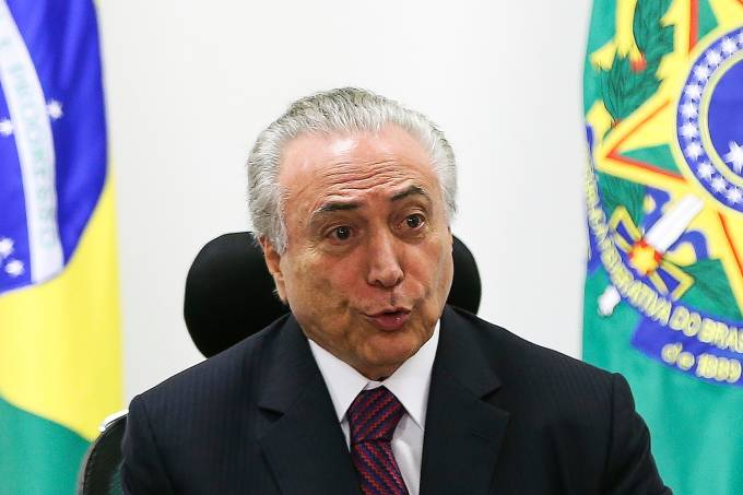 Michel Temer recebe presidente da Anfavea